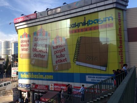 Cam Cephe Reklam Alanı